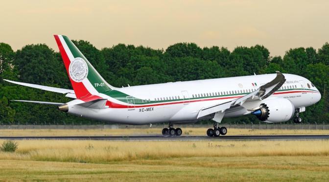 Ideas para hacer rentable el avión presidencial