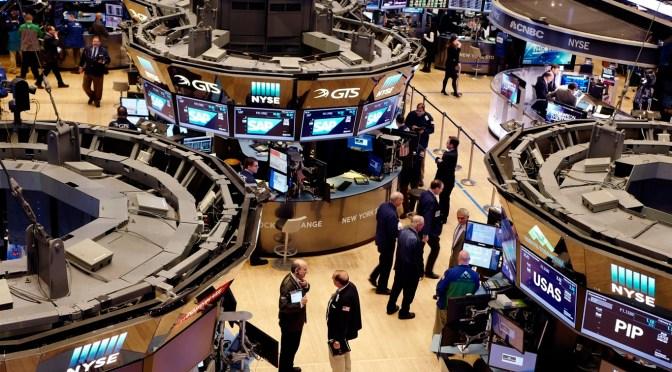 Dow Jones cierra con ganancia de 0.85 por ciento