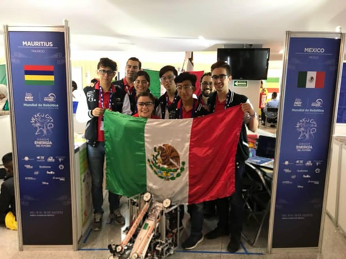 México, entre los primeros 15 lugares hasta el momento en FIRST Global