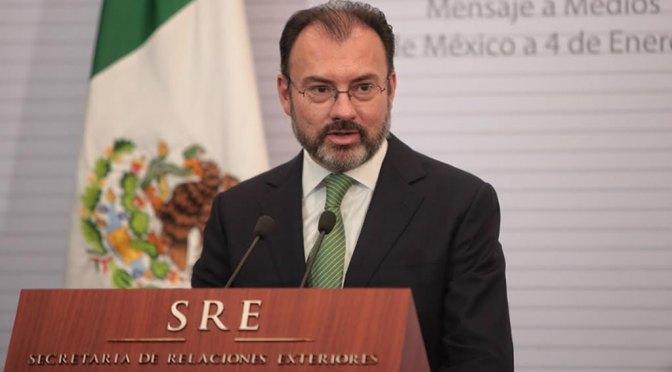 Sí hay investigación en contra de Luis Videgaray: UIF