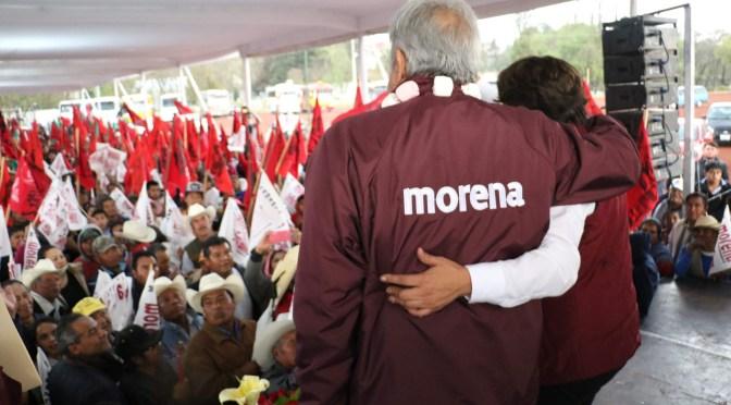 TEPJF determina que va la tercera encuesta de Morena