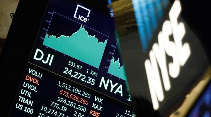 Dow Jones cierra con pérdida de 0.11 por ciento