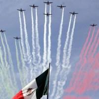 Fuerza Aérea y Armada de México alistan desfile del 16 de Septiembre