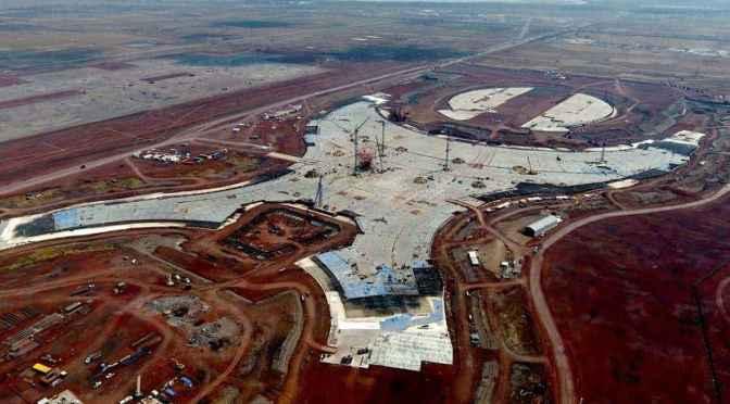LIcitan venta de acero del cancelado aeropuerto de texcoco