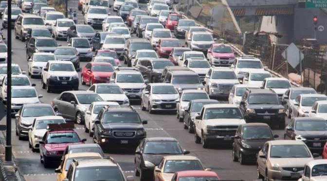 Congestión vehicular cuesta hasta 94 mil mdp anuales a mexicanos