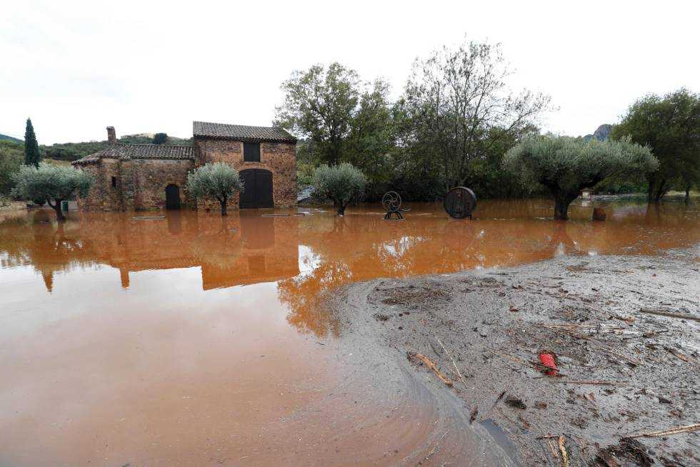 Inundaciones en sur de Francia dejan seis muertos