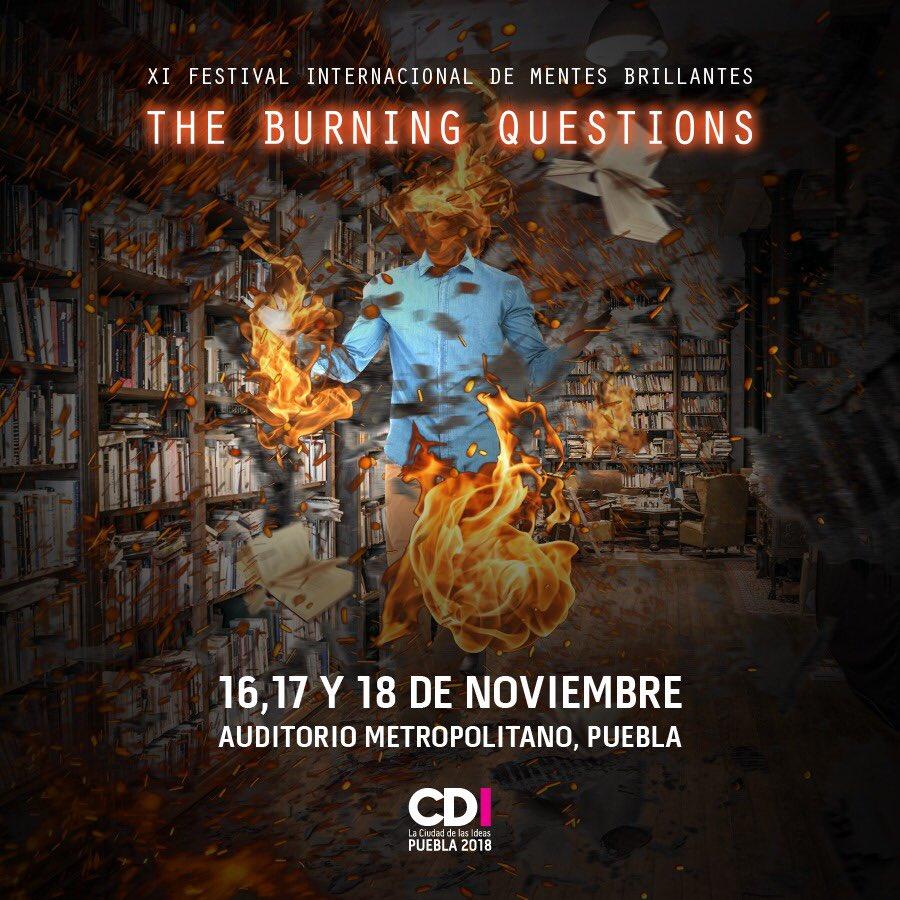 Ciudad de las Ideas reunirá en Puebla a expertos internacionales