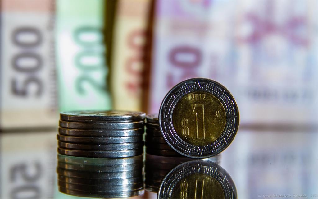 El peso cerró la semana con una apreciación de 1.66% o 31.6 centavos