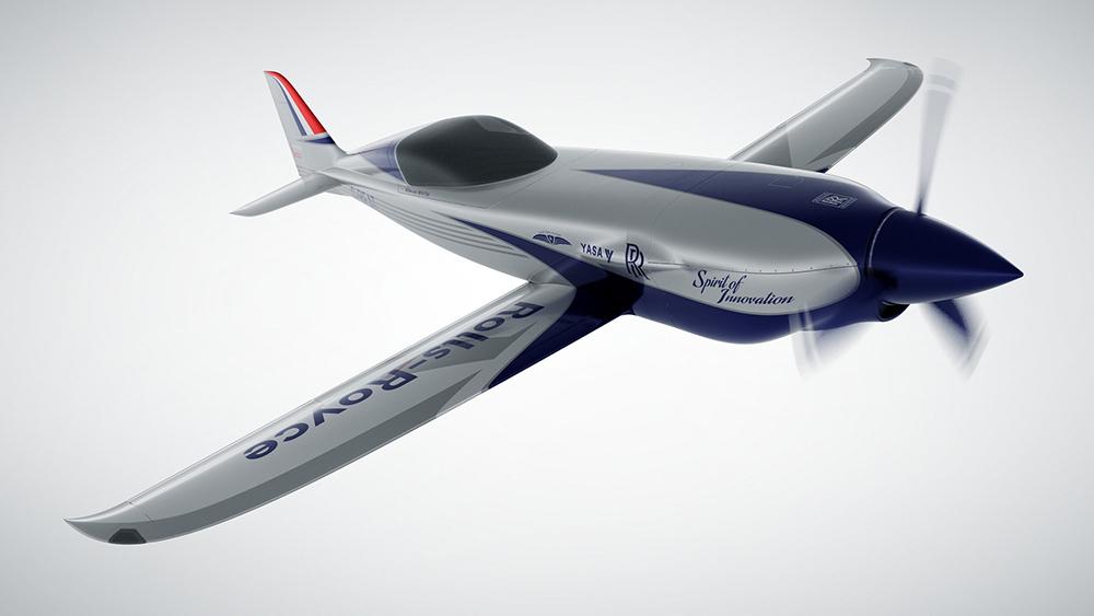 Rolls-Royce está construyendo el avión eléctrico más rápido de la historia