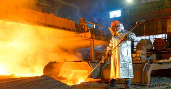 Producción minerometalúrgica se recupera en julio