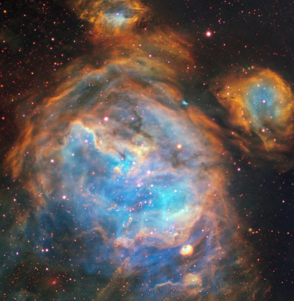 Toman imagen de nuevas estrellas en la Gran Nube de Magallanes