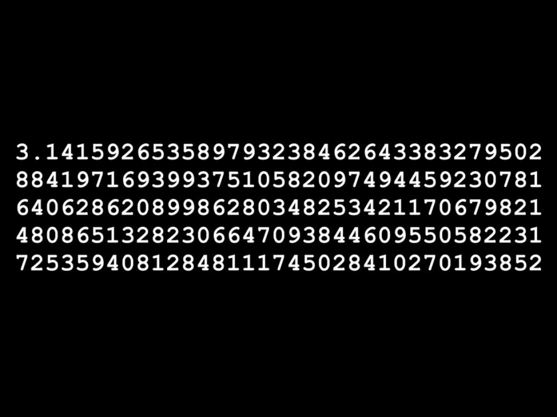Algunas curiosidades del número Pi