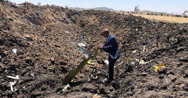Pieza hallada sugiere similitudes en los dos accidentes del modelo Boeing 737 Max 8