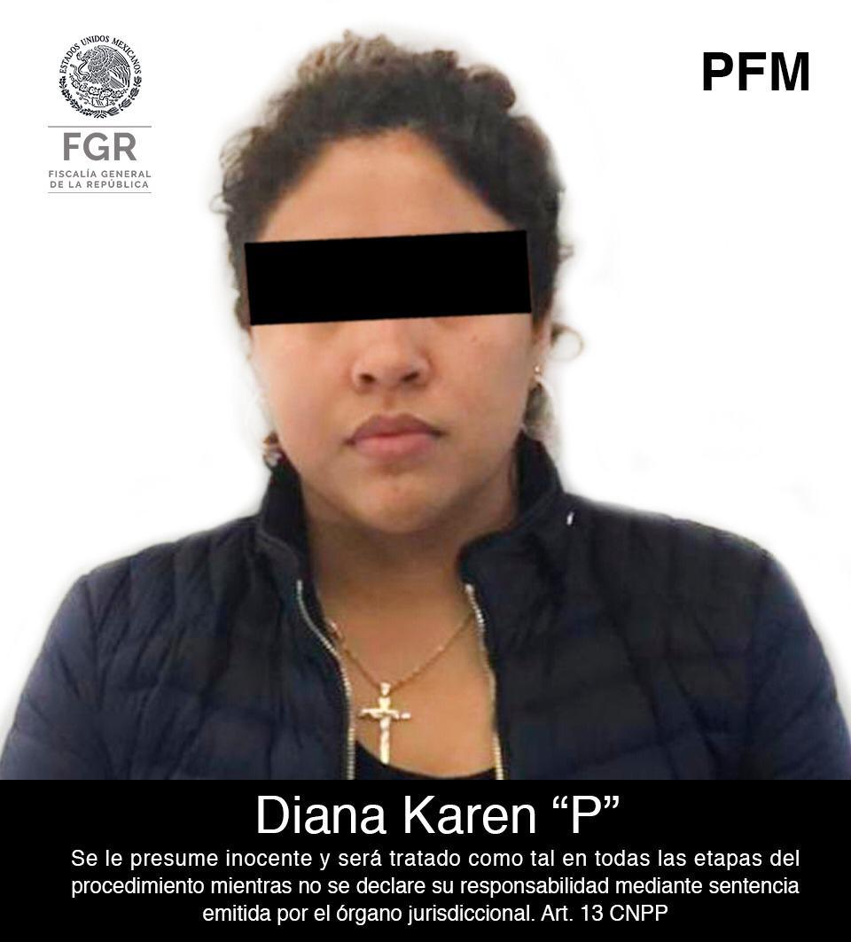 "Capturan a Diana Karen Pérez Ramírez, ""La Princesa de Tláhuac"" o ""La Negra"", presunta sucesora al frente del cártel de Tláhuac"