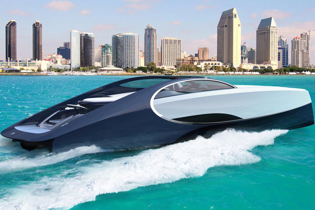 Yate de Bugatti
