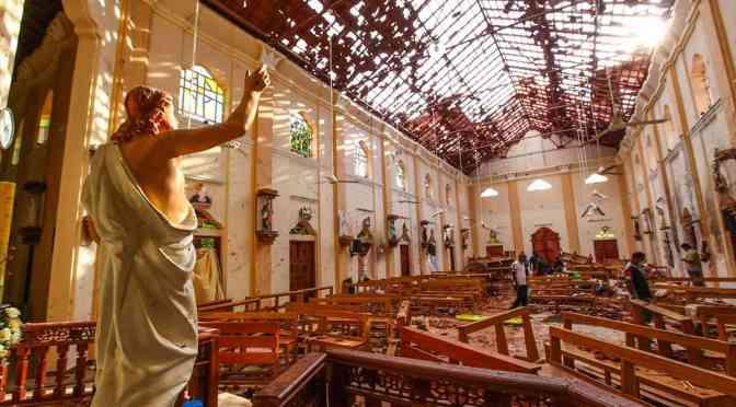 Sri Lanka celebra misas por televisión por miedo a nuevos ataques