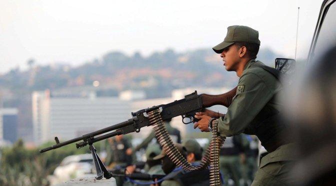Venezuela acusó a Estados Unidos de preparar agresión en su contra