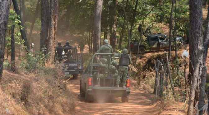 En Uruapan, Michoacán, enfrentamiento deja al menos 10 muertos y varios heridos