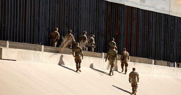 Estados Unidos aprobó enviar 2 mil 100 soldados a frontera con México