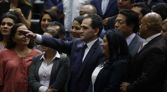 Arturo Herrera rinde protesta como nuevo Secretario de Hacienda
