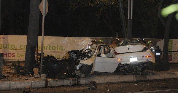 Otorgan libertad condicional a conductor del BMW que chocó en Reforma en 2017