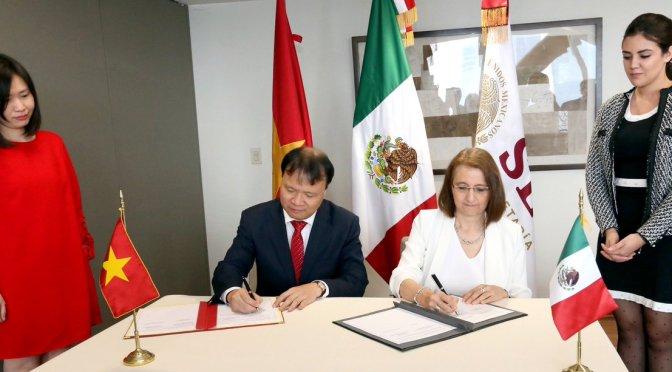 México y Vietnam reforzarán relación comercial