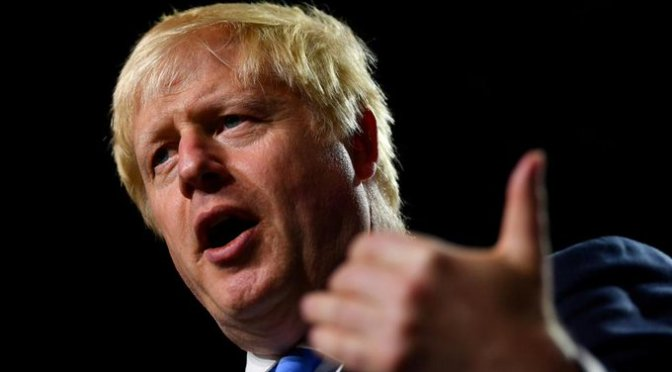 Boris Johnson ve posible aún acuerdo para Brexit