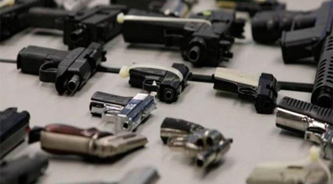 Gobierno capitalino lleva casi cuatro mil armas de fuego recolectadas