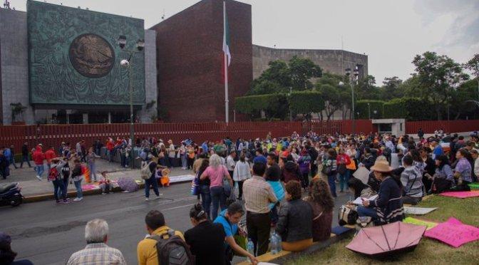CNTE liberó acceso a la Cámara de Diputados