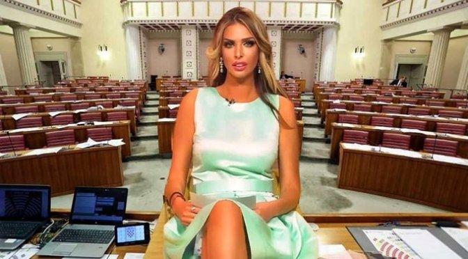 Ava Karabatić, exmodelo de Playboy, buscará presidencia de Croacia