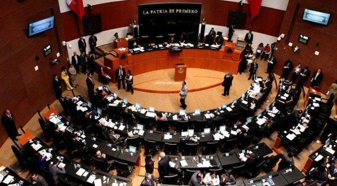 Recibe Senado minuta que formaliza el Instituto para Devolver al Pueblo lo Robado
