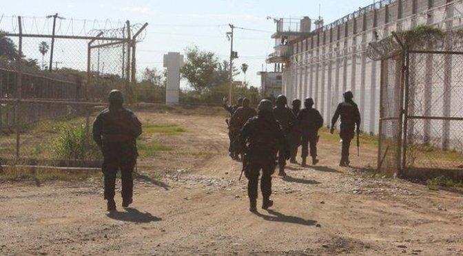 Entre 20 y 30 reos escaparon del penal de Aguaruto, Culiacán, confirman autoridades de Sinaloa