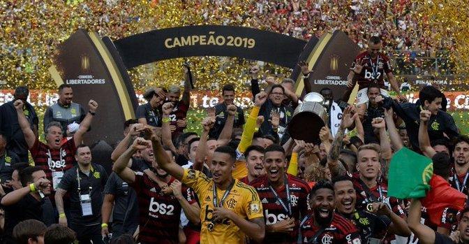 Flamengo ganó el título de la Copa Libertadores