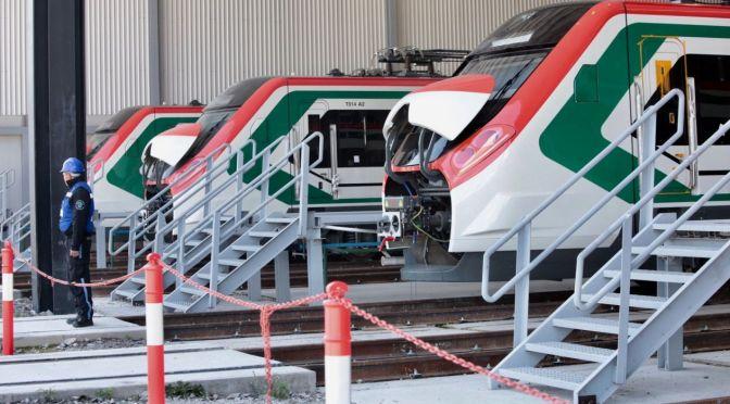 Avanzan las obras del Tren Interurbano México-Toluca