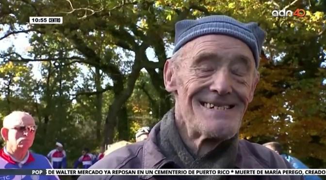 Ciclista ejemplar, lleva 67 años pedaleando