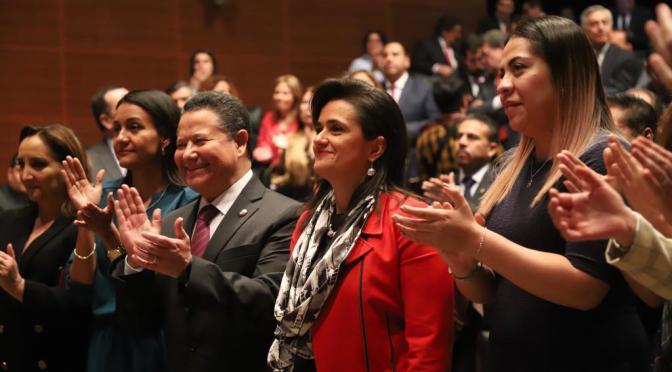 Margarita Ríos- Farjat rindió protesta como nueva ministra de la SCJN
