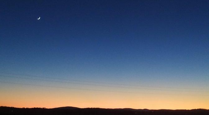 Las increíbles fotografías de la conjunción entre la Luna y Venus