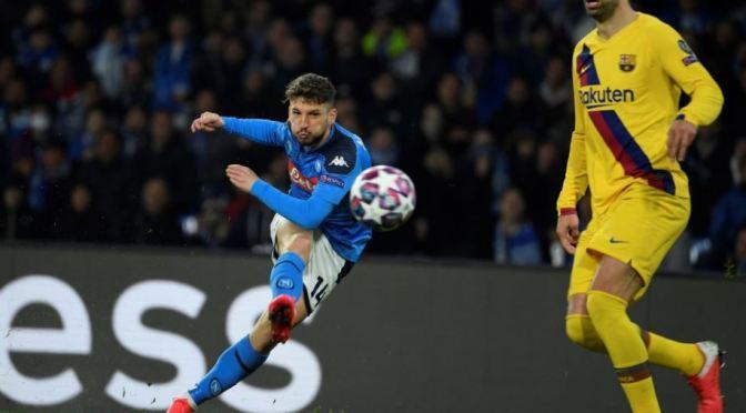 Barcelona rescató el empate ante el Napoli