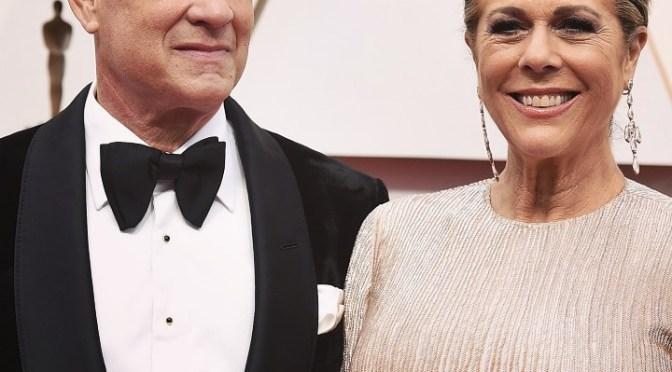 El actor Tom Hanks confirmó que él y su esposa Rita Wilson tienen coronavirus