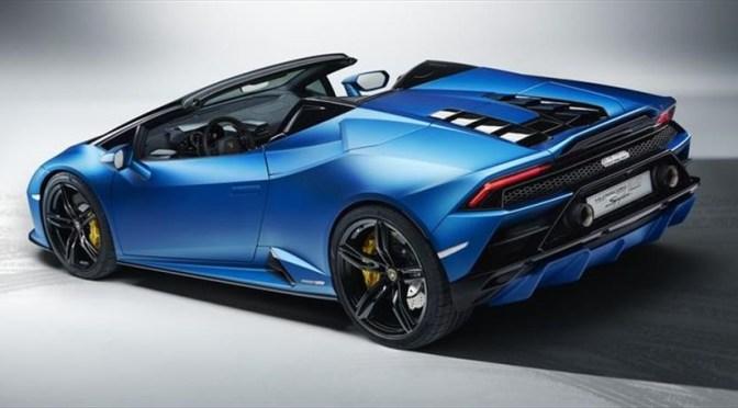 Lamborghini hace lanzamiento virtual del nuevo Huracán EVO RWD Spyder