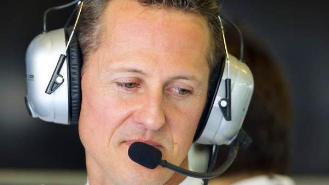 Schumacher entrará a cirugía con células madre