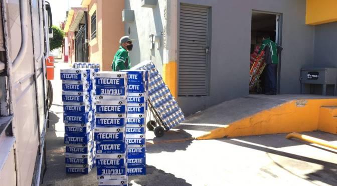 Reanudan suministro de cerveza en comercios