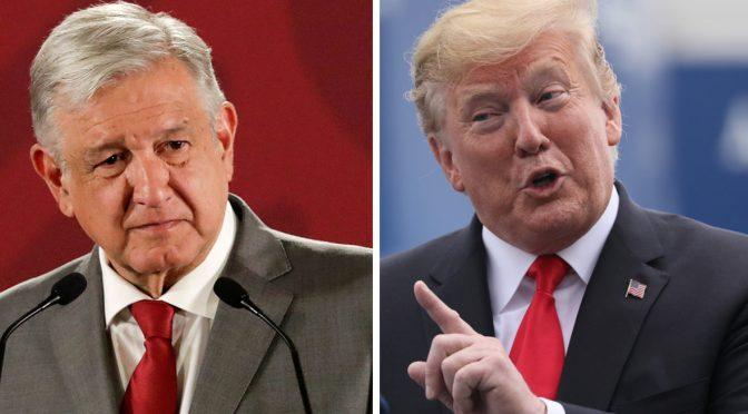 """Donald Trump dice que recibirá """"pronto"""" al presidente López Obrador en la Casa Blanca"""