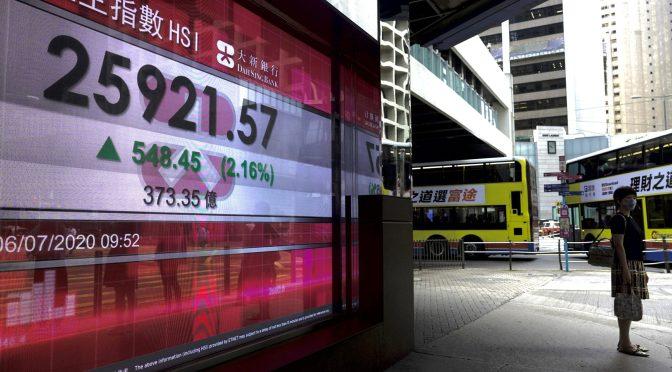 Wall St sube tras dato servicio EEUU, expectativa repunte encabezado por China