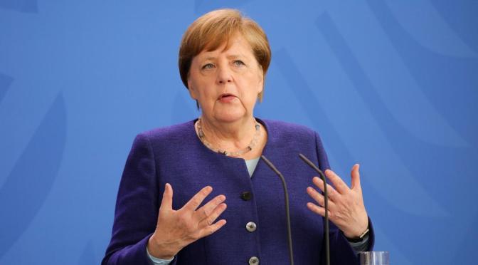 Merkel dice que no hay garantías de alcanzar acuerdo con líderes UE sobre estímulos