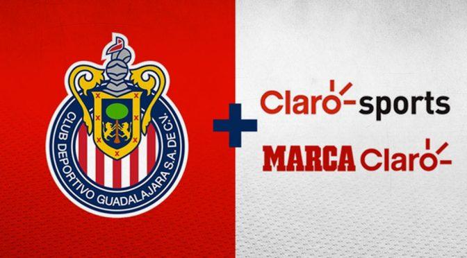 Los partidos de Chivas llegarán a 18 países de América y Europa a través de Claro Sports y Marca Claro
