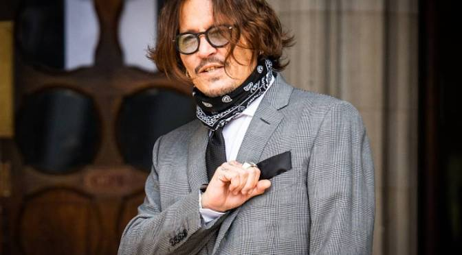 Actor Johnny Depp fue golpeado por su exesposa Heard: juicio