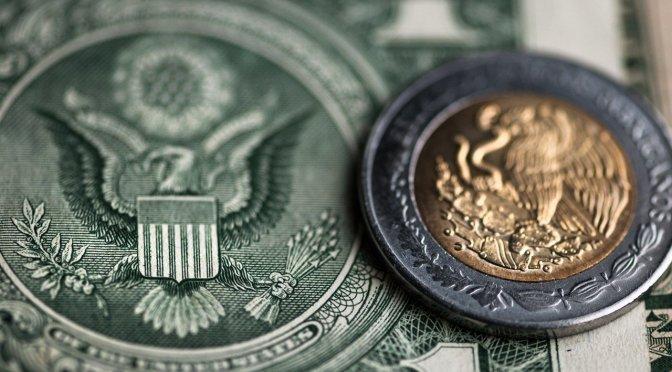 Peso al mando: Dólar se hunde 0.49% hacia los $22.50