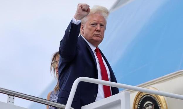"""Trump quiere """"emular"""" con López Obrador la relación entre Lincoln y Juárez"""
