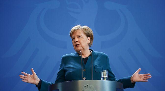 Los niños no deben convertirse en los perdedores de la pandemia: Merkel